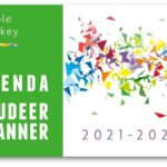 Purple Monkey Agenda en Studeerplanner 2021-2022